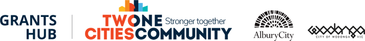 Albury Wodonga Grants Hub Logo